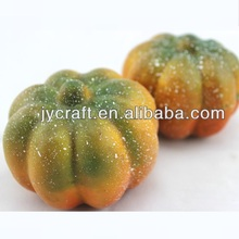 plastic cute fake small mini pumpkin model for fake vegetable decorative display