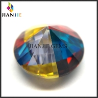 Factory Price Loose CZ Synthetic Gemstone Four Colors Cubic Zirconia