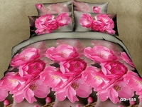 Dark Pink Cherry Blossom modern 3d Bedroom set