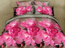 Dark Pink Cherry Blossom modern 3d Bedroom set
