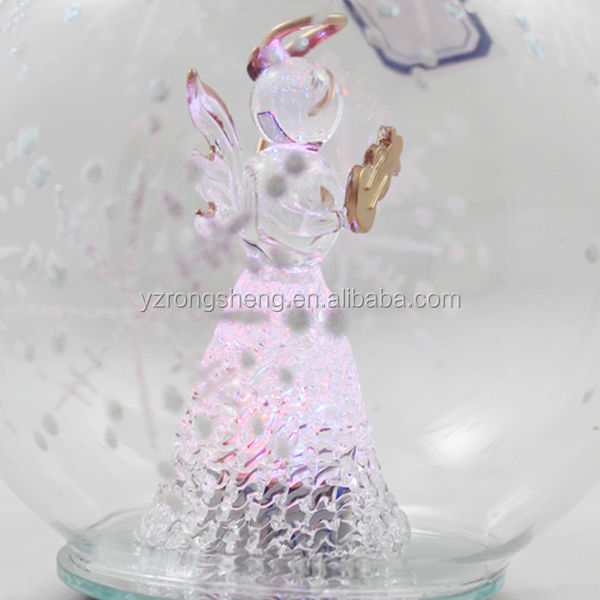 wholesale glass angel christmas ornament