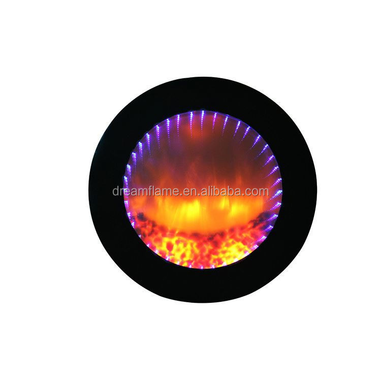 Top fashion excellent quality indoor round fireplace mantel with many colors