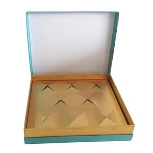 Elegant luxury cardboard paper chocolate boxes/paper gift packaging with lid