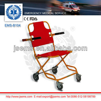 EMS-B104 emergency evacuation wheel chair stretcher