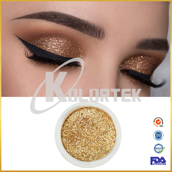 Private label eyeshadow glitter pigment for cosmetics, glitter powder for makeup