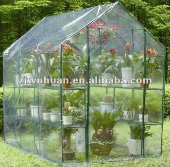 Walk in garden greenhouse
