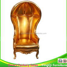 Golden Birdcage Chair French Style Wedding Throne Chairs