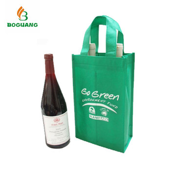 Custom Logo Recycled Personalized Wine Gift Bags