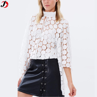 Latest Fashion Design Women White Lace