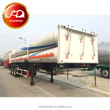 Hot Selling 8 Tubes Skid Cng Trailer / Semi Trailer / Transport Trailer Made In China