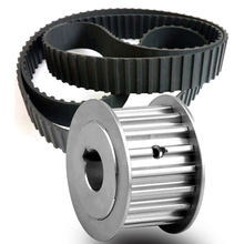 24 Tooth L150 Pitch 9.525mm Bore 12mm to 59mm Belt width 1.5'' Cogged Pulley And Belt
