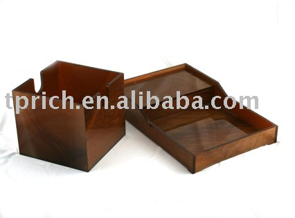 Acrylic serving trays design