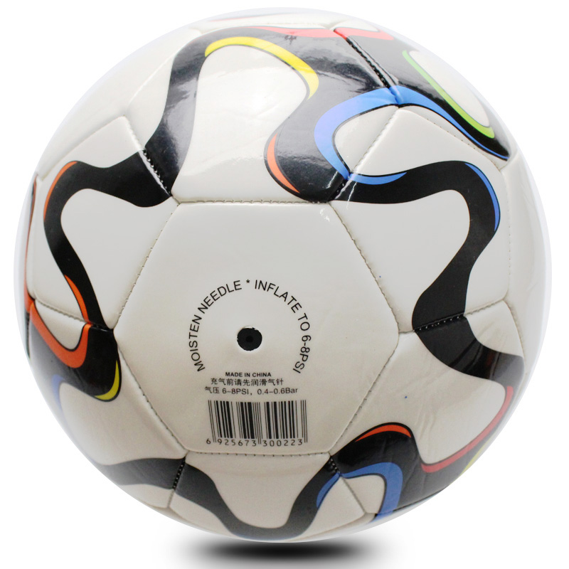 YONO machine stitched soccer ball size 5 new design TPU/PVC material football with competition official size china supply
