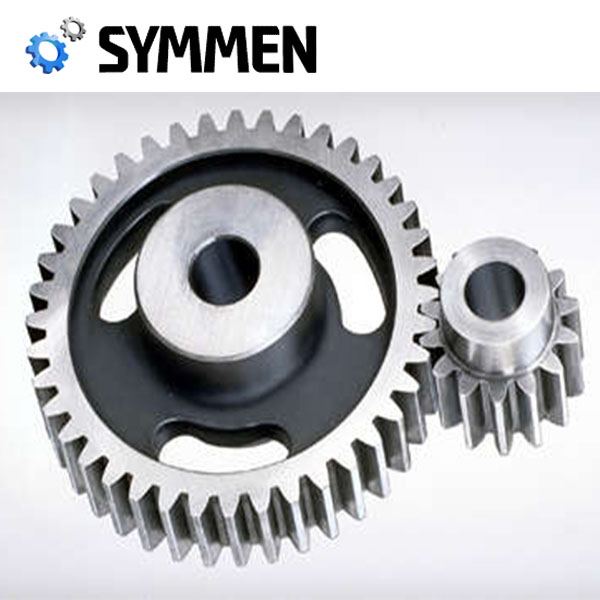 Qualified Precision Casting Stainless Steel Large Straight Cut Gears With 16Mncr5 Steel Prices
