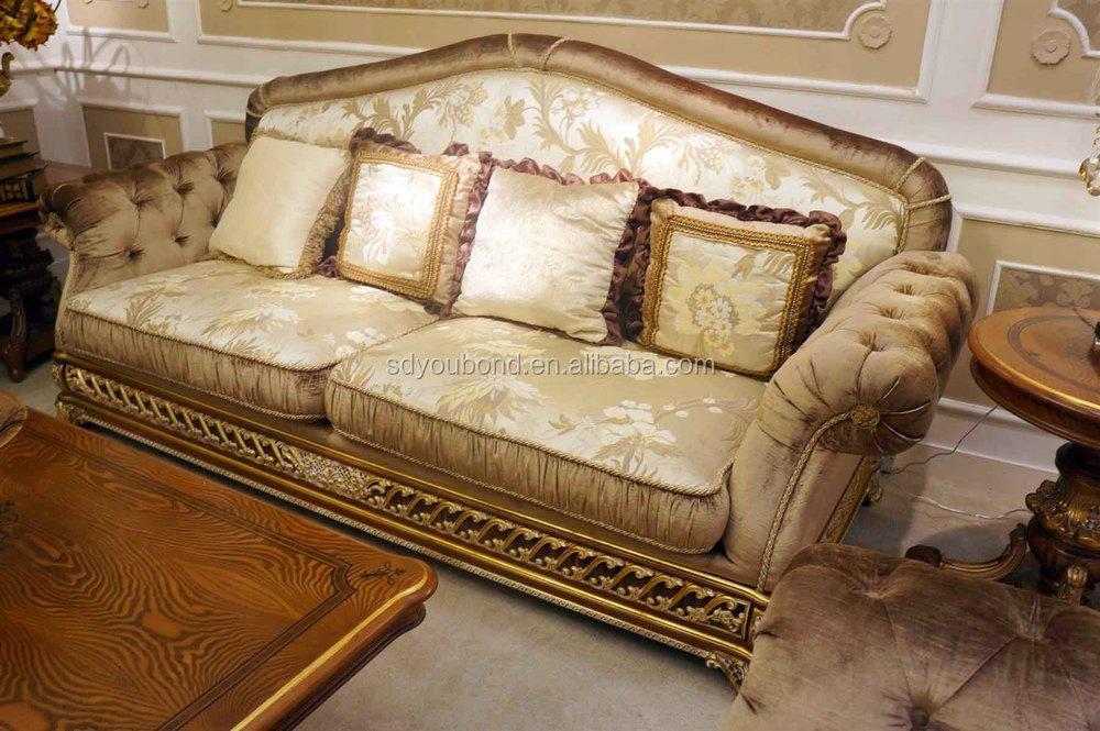 0062 italy design royal neo classic living room furniture for Classic sofa design