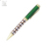 2018 hot Selling Metal Ballpoint Pen With Color Stripe Metal Ball Pens