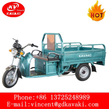 From China kavaki Motor Manufacturer 1000 W Electric Tricycle / Auto Rickshaw For Sale