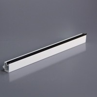 UPVC window profile glazing beads pvc casement window plastic extrusion profile glass tripple