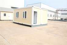 economical insulated prefabricated wooden container prefabricated site office