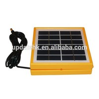 solar battery charger Indoor and Outdoor Solar Panel Charger Solar Camping Lantern 6000mAH 4V Rechargeable Battery