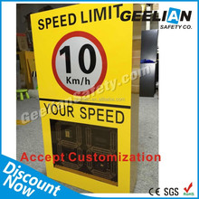 Reflective traffic led warning signal products solar system signs