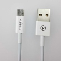 good quality braided metal casing data 8 pin USB cable