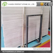 Wood White Marble Slab Marble Slab for sell