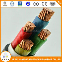 High quality low voltage 4 core 10mm pvc cable XLPE PVC electrical cable wire