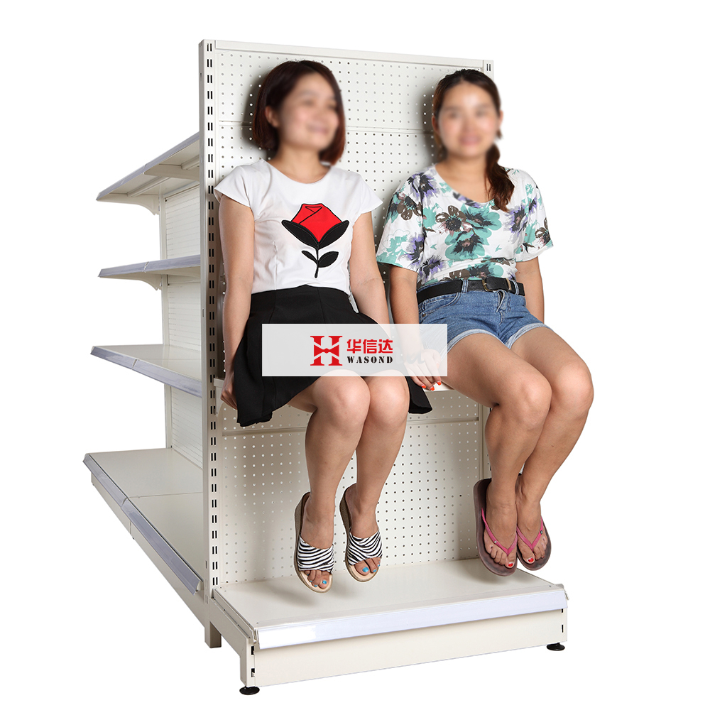 fashionable display retail shelving