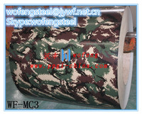 camouflage/army color coated steel coil for movable house/container house