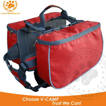 2014 High quality design dog backpack with ripstop