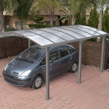 Stylish and luxury aluminum alloy car outdoor gazebo canopy carport