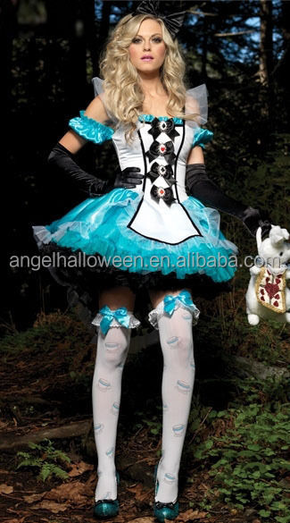 good quality Carnival costume alice in wonderland costume fancy dress costume AGC2006