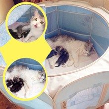Foldable Pet Bag Cat Nest Closed Small Dog Kennel Pet Tent Tactic Tent Cat Activities In Delivery Room