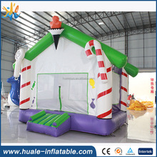 Inflatable jumping house, inflatable Christmas bouncer for kids