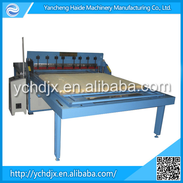 Fabric Sample Pinking Cutter Textile Sample Cutting Machine Same Tech With Switzerland Polytex