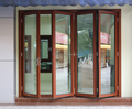 North America Style HB130 series Aluminum Bi-fold Door comply with CE certificate from China factory