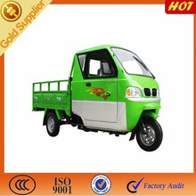 3 Wheel Cargo Motorcycle / Closed Cabin Tricycle