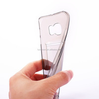 clear pu plastic soft with card slot phone case for samsung galaxy 360 protective