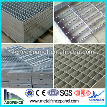 pvc coated heavy duty rain water drainage stainless steel grating