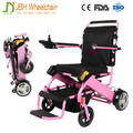 180W/20AH Lightweight folding powered small electric wheelchairs