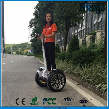 Freego X3 19inch off road electric scooter for adults two wheels stand up electric scooter