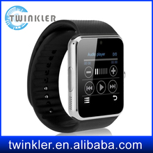 GT08 Smart Watch Bluetooth Smartwatch for iPhone 6/puls/5S Samsung S4/Note 3 HTC Android Phone Smartphones Android HOT