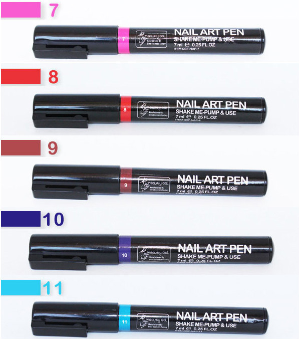 DIY paint nail art polish pen