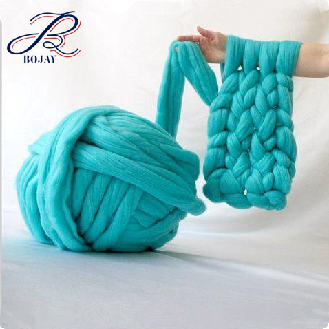 SALE! Giant Yarn Arm Knitting Wet Needle Felting Chunky Bulky Thick 100% Merino Wool For Gift Arm Knit Throw Blanket Scarf