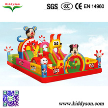 Outdoor playground inflatable castle mickey mouse for sale, inflatable castle mickey mouse