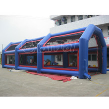 Commercial inflatable baseball batting cage for sale