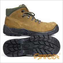 Guangzhou Casual Sporty Safety Shoes made by Suede Leather SA-1218