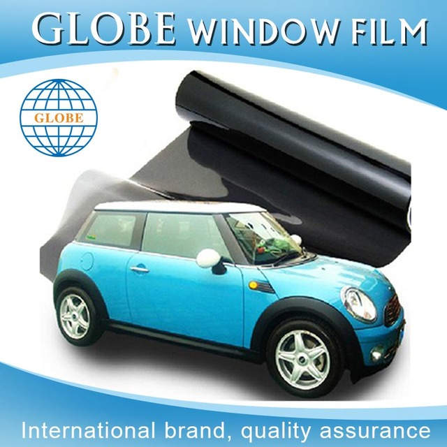 1.52*30 m car sunroof sticker cam filmi serbest mi black car window tint for sale