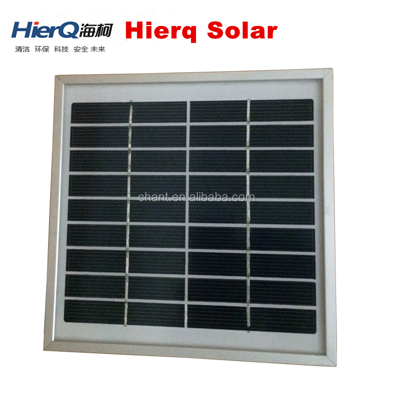 Small Power 3W Poly Glass laminted Solar Panel solar panel 180*180mm